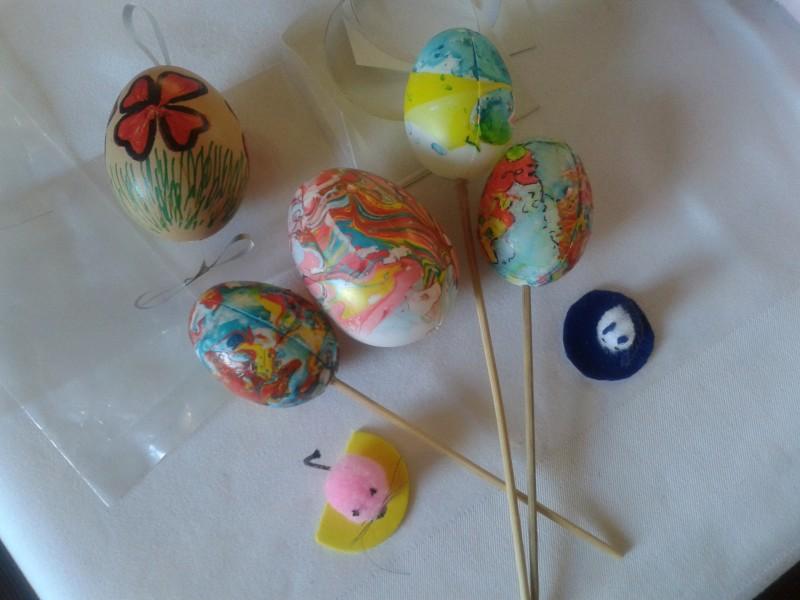 Ročne spretnosti  - Velikonočni aranžmaji