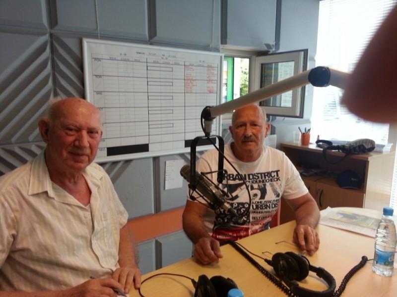Intervju na radiu ROBIN
