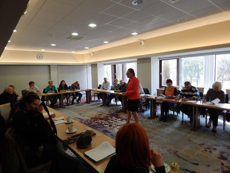 Usposabljanje in izobraževanje novih prostovoljcev