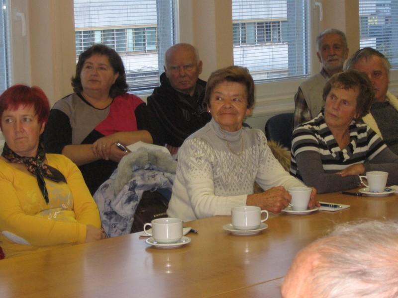 Predavanje v bolnici Jesenice.