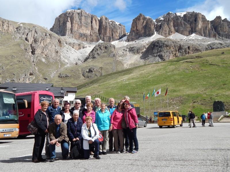 Pohod v Dolomite in ogled znamenitosti