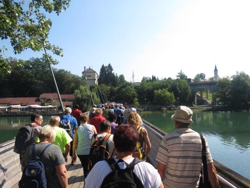 Pohod ob reki Krki in po Novem mestu