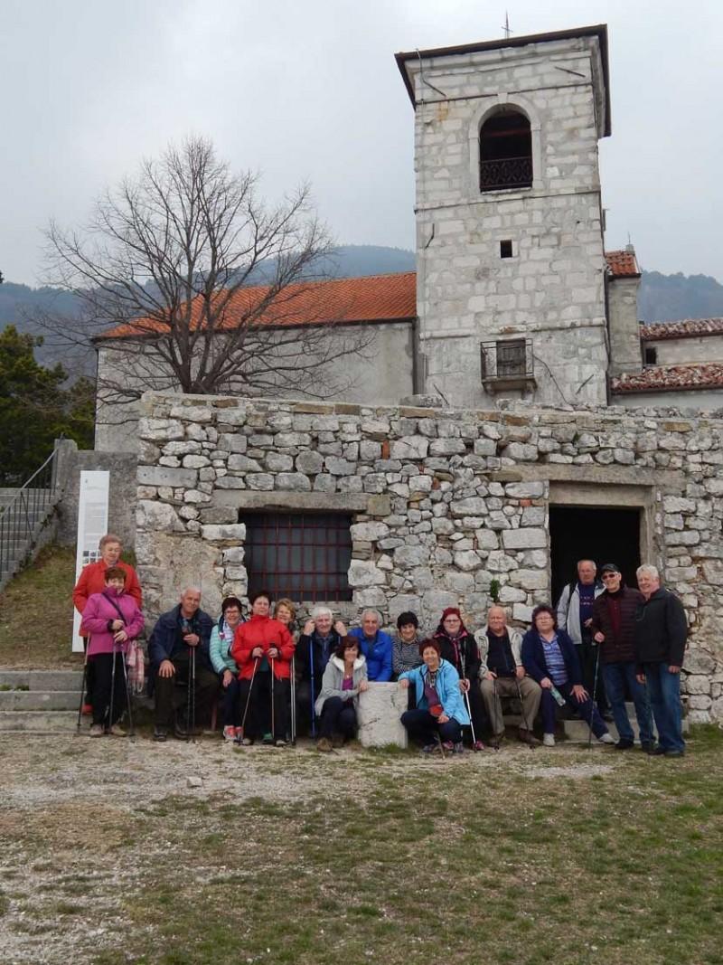 Pohod do romarske Vitovske cerkve