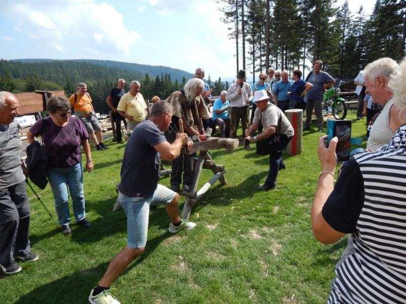 Kopanje v Topolščici in pohod po Kopah