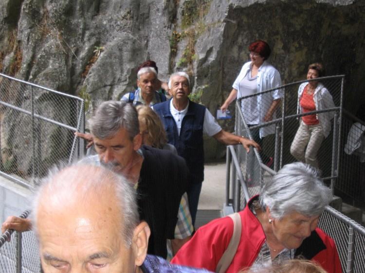 Ogled Škocijanskih jam ter kopanje v Strunjanu