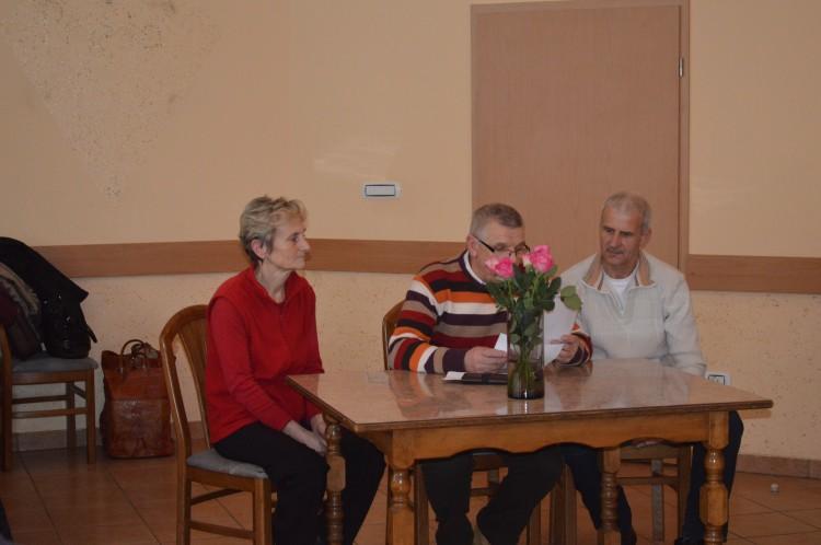 Delovno predsedstvo v sestavi; Milan Koren, predsednik, Irena Kortnik in Stanislav Abraham, člana.